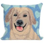 Liora Manne Puppy Love Throw Pillow
