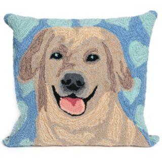 Liora Manne Puppy Love Throw Pillow