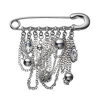 Simply Vera Vera Wang Draping Chain Safety Pin