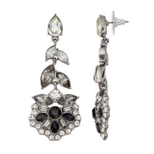 Simply Vera Vera Wang Stone Cluster Vine Drop Earrings