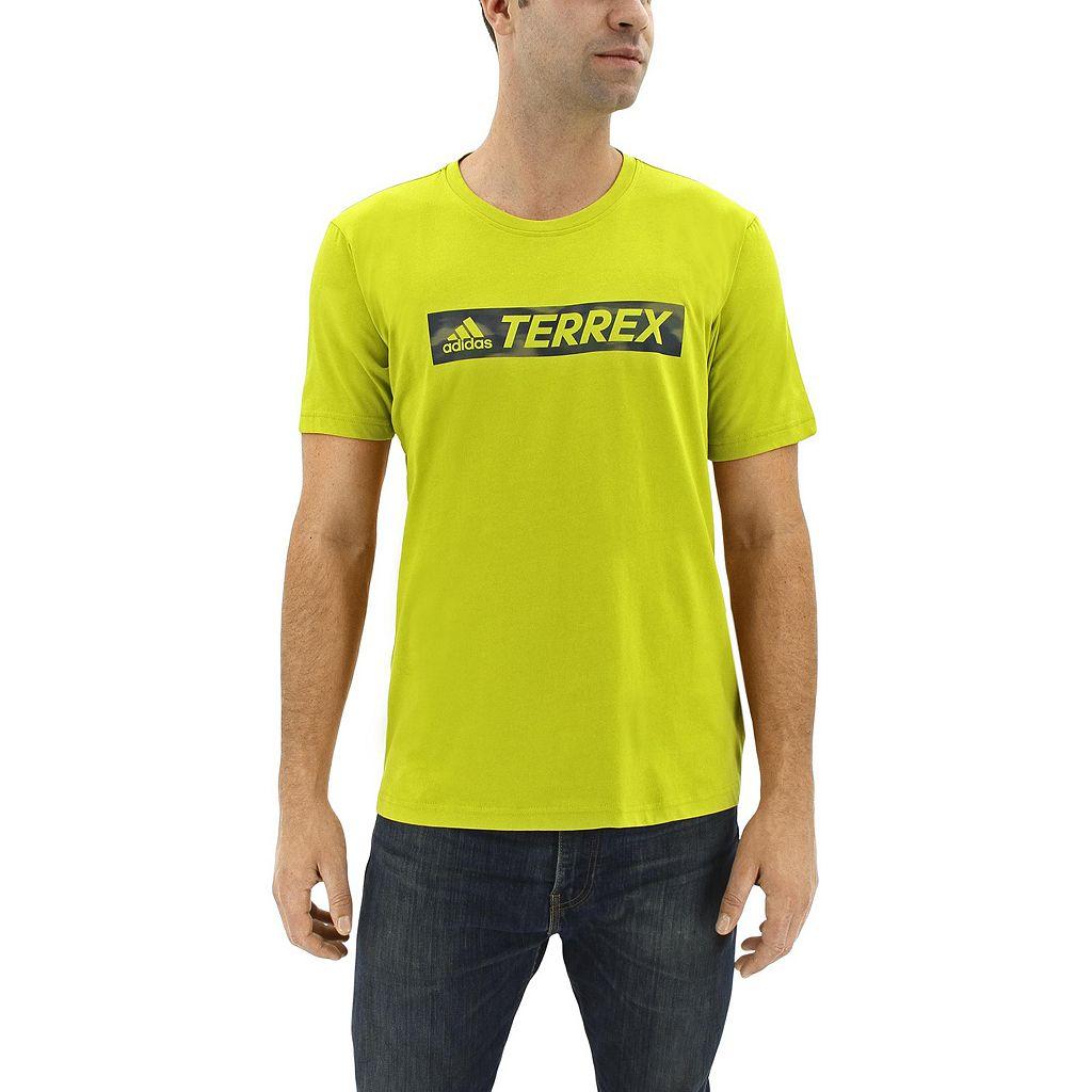 Men's adidas Outdoor Classic-Fit Terrex Logo Performance Tee