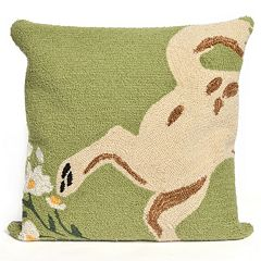 Liora Manne Wipe Your Paws Throw Pillow