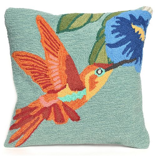 Liora Manne Hummingbird Sky Throw Pillow