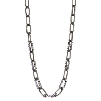 Simply Vera Vera Wang Long Mesh Link Necklace