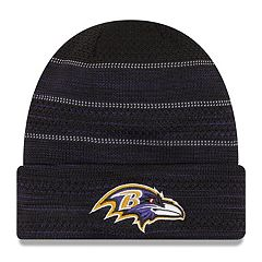Adult New Era Baltimore Ravens Official Touchdown Beanie
