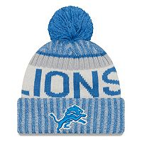 Youth New Era Detroit Lions Knit Beanie