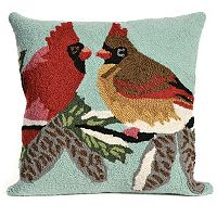 Liora Manne Cardinals Sky Throw Pillow