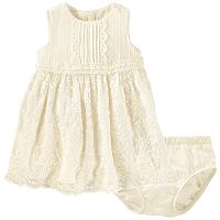 Baby Girl OshKosh B'gosh® Crochet Lace Dress