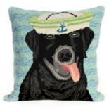 Liora Manne Salty Dog Throw Pillow