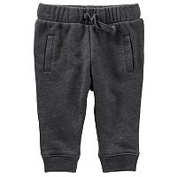Baby Boy OshKosh B'gosh® Fleece-Lined Gray Jogger Pants