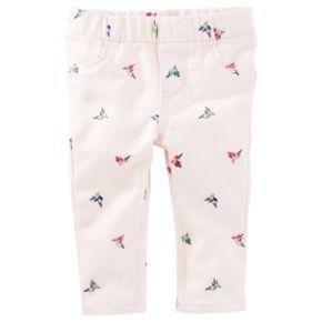 Baby Girl OshKosh B'gosh® Bird Twill Pants