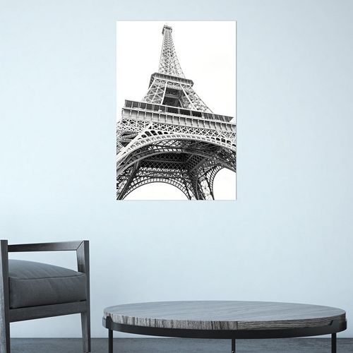 Amanti Art Paris Eiffel Up Close Canvas Wall Art