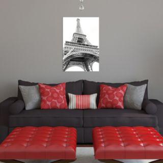 Amanti Art Paris Eiffel Up Close Canvas Wall Art
