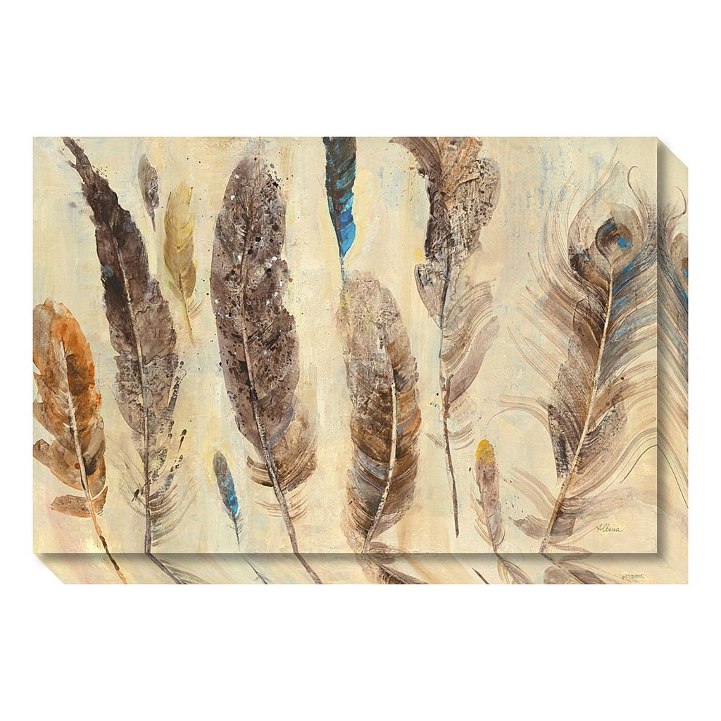 Amanti Art Feather Study Canvas Wall Art