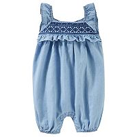 Baby Girl OshKosh B'gosh Chambray Jumper