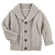 Baby Boy OshKosh B'gosh® Shawl Collar Cardigan