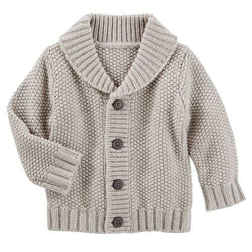Baby Boy OshKosh B'gosh® Shawl Collar Cardigan