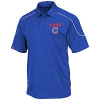 Big & Tall Majestic Chicago Cubs Birdseye Polo