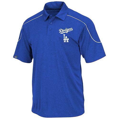 Big & Tall Majestic Los Angeles Dodgers Birdseye Polo