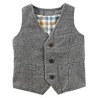 Toddler Boy OshKosh B'gosh® Flannel-Lined Vest