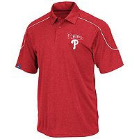 Big & Tall Majestic Philadelphia Phillies Birdseye Polo