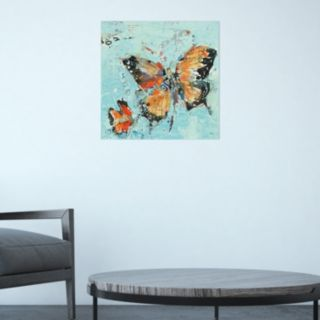 Amanti Art Monarch II Canvas Wall Art