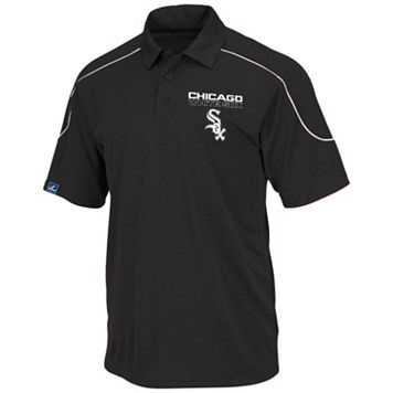 Big & Tall Majestic Chicago White Sox Birdseye Polo