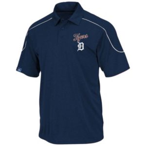 Big & Tall Majestic Detroit Tigers Birdseye Polo!