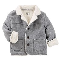 Toddler Boy OshKosh B'gosh® Sherpa-Lined Fleece Jacket