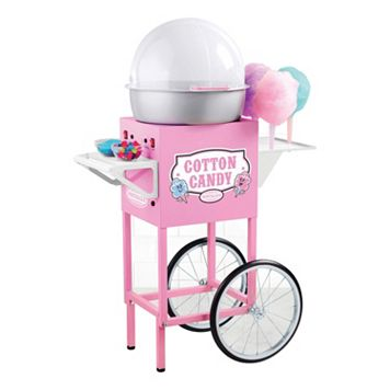 Nostalgia Electrics Vintage Series Commercial Hard & Sugar-Free Candy Cotton Candy Cart