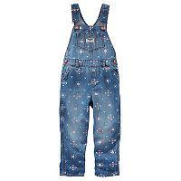 Baby Girl OshKosh B'gosh® Floral Print Overalls