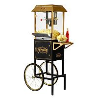 Nostalgia Electrics Vintage Collection Commercial Kettle Popcorn Cart