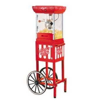 Nostalgia Electrics Vintage Collection Kettle Popcorn Cart