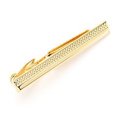 Men's Croft & Barrow® Half-Textured Tie Bar
