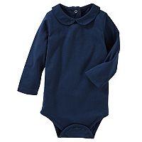Baby Girl OshKosh B'gosh® Peter Pan Collar Bodysuit