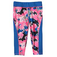 Girls 4-6x PUMA Printed Capri Leggings