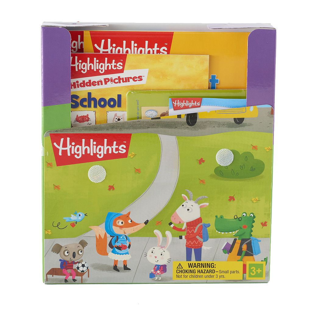 Kohl's Cares® Fun For School Activity Kit 9-piece Set by Highlights