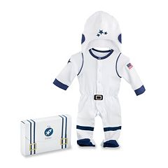 Baby Aspen Big Dreamzzz Baby Astronaut 2 Piece Layette Set