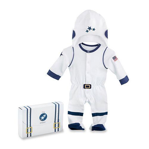 Baby Aspen Big Dreamzzz Baby Astronaut 2 Piece Layette Set