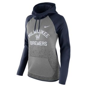 Women's Nike Milwaukee Brewers All Time Therma-FIT Hoodie