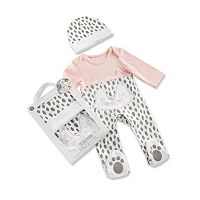 Baby Girl Baby Aspen Trendy Baby Kitty 2 pc Pajama Gift Set