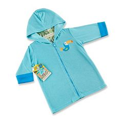 Baby Boy Baby Aspen Toucan Hooded Terry Cover-Up