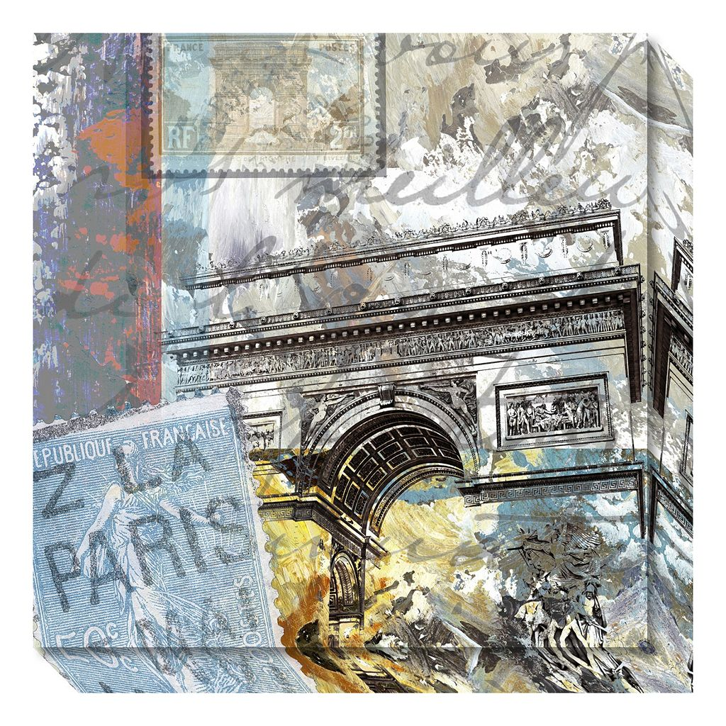 Amanti Art Paris Arc Canvas Wall Art