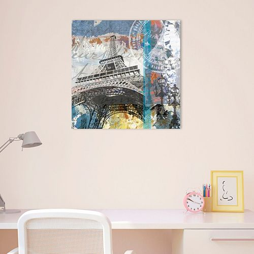 Amanti Art Paris Eiffel Canvas Wall Art