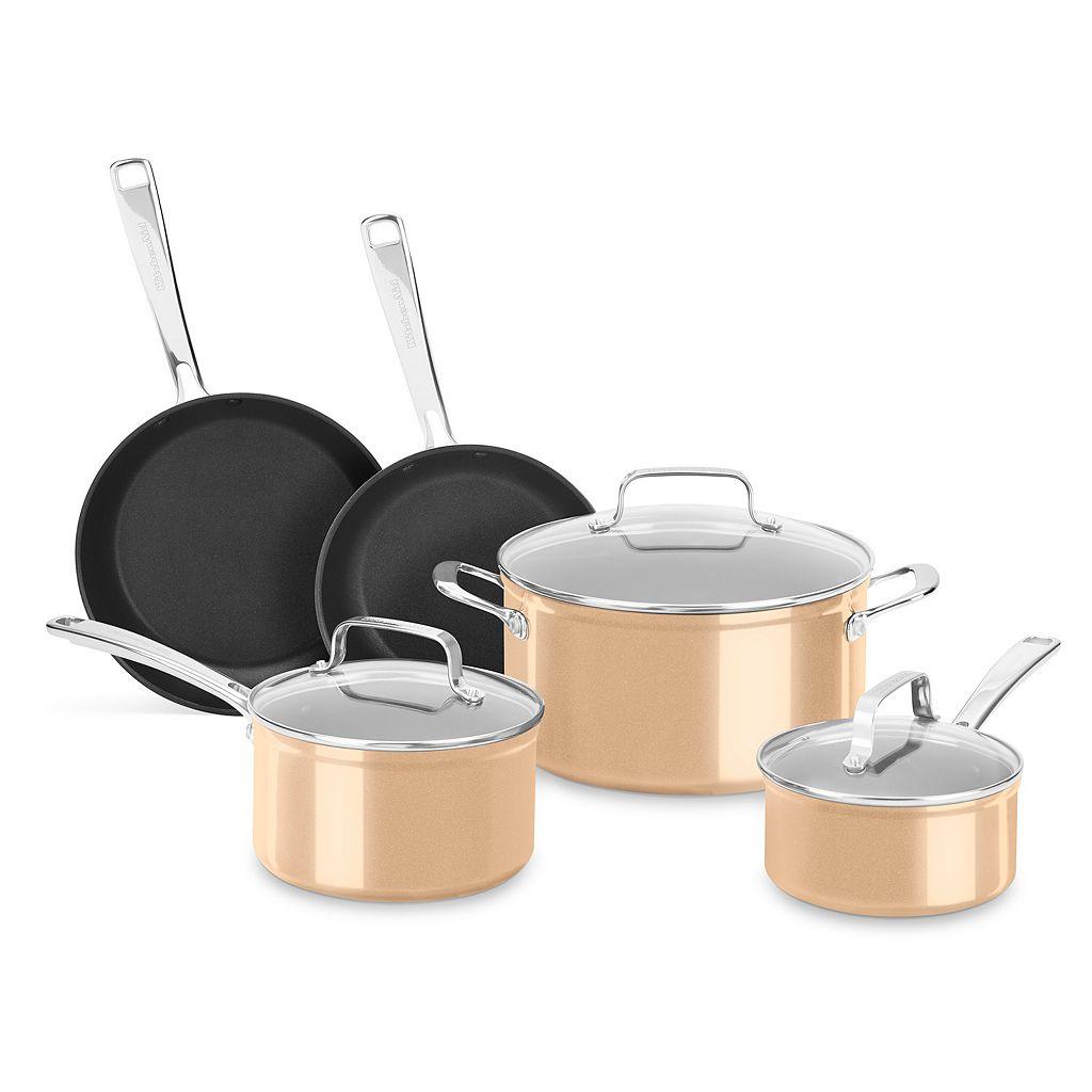 KitchenAid 8-pc. Nonstick Cookware Set