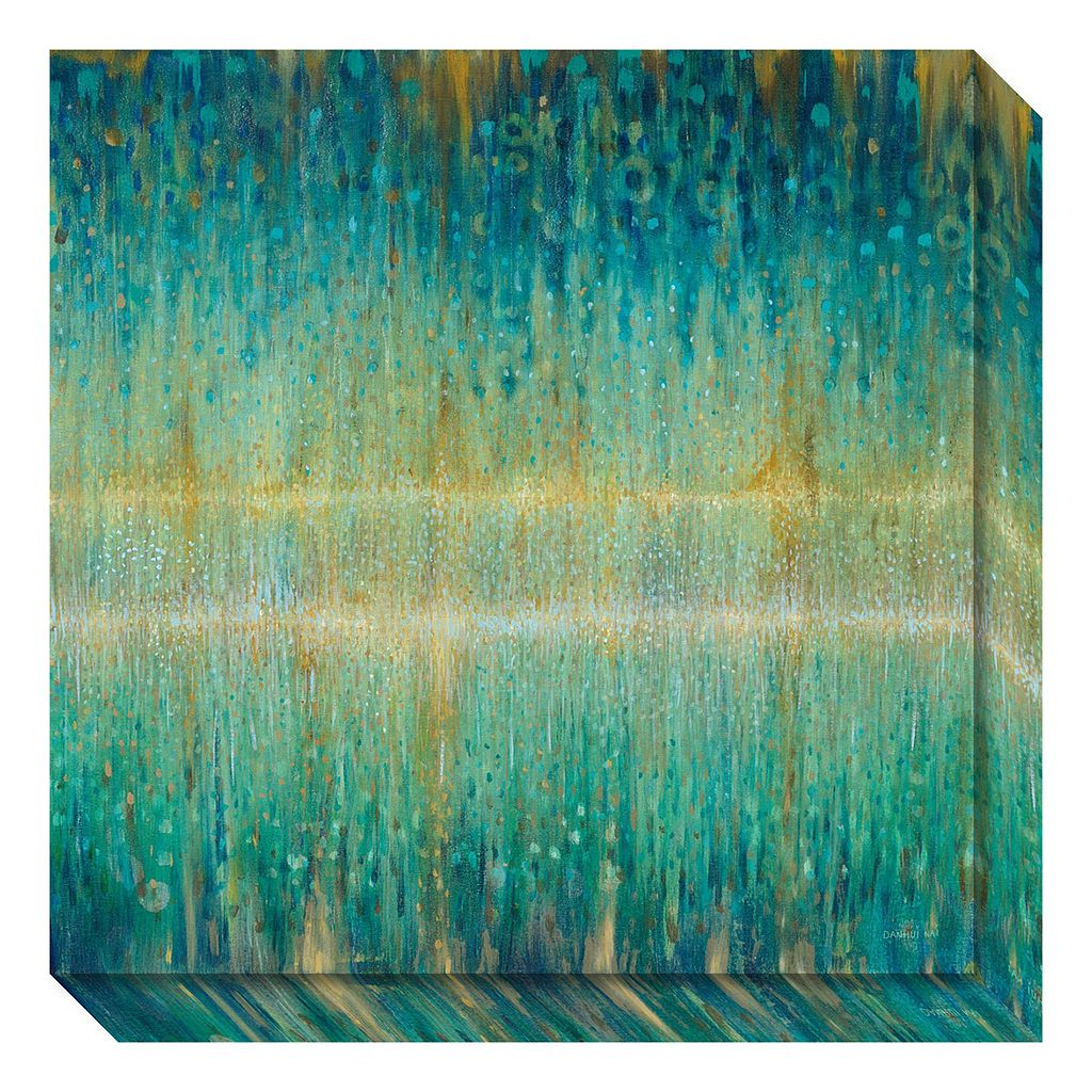 Amanti Art Rain Abstract I Canvas Wall Art