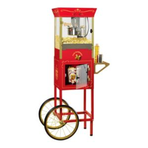 Nostalgia Electrics Vintage Series Commercial Kettle Popcorn Cart