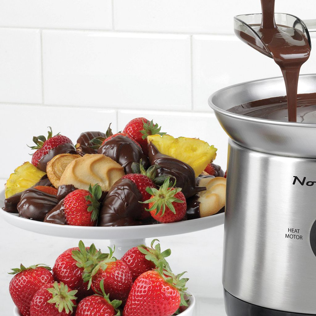 Nostalgia Electrics Cascading Chocolate Fondue Fountain