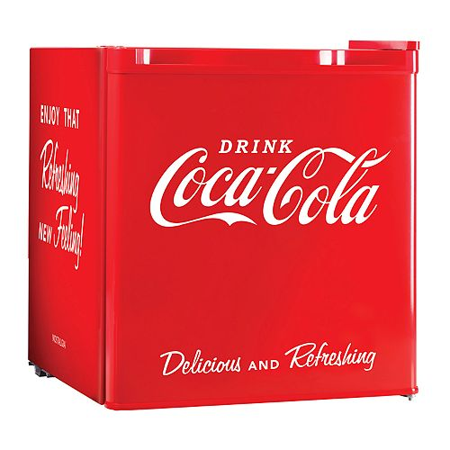 Nostalgia Electrics Limited Edition Coca-Cola Mini Refrigerator