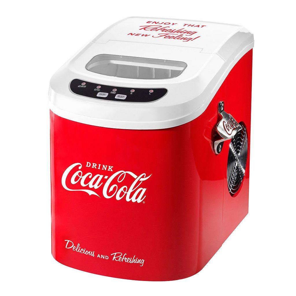 Nostalgia Electrics Limited Edition Coca-Cola Automatic Ice Cube Maker